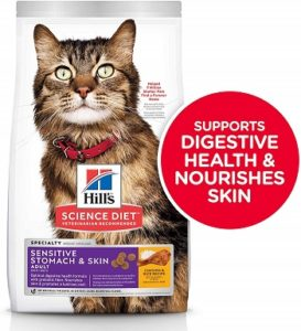 Hills Science Diet Sensitive Stomach and Skin Cat Food